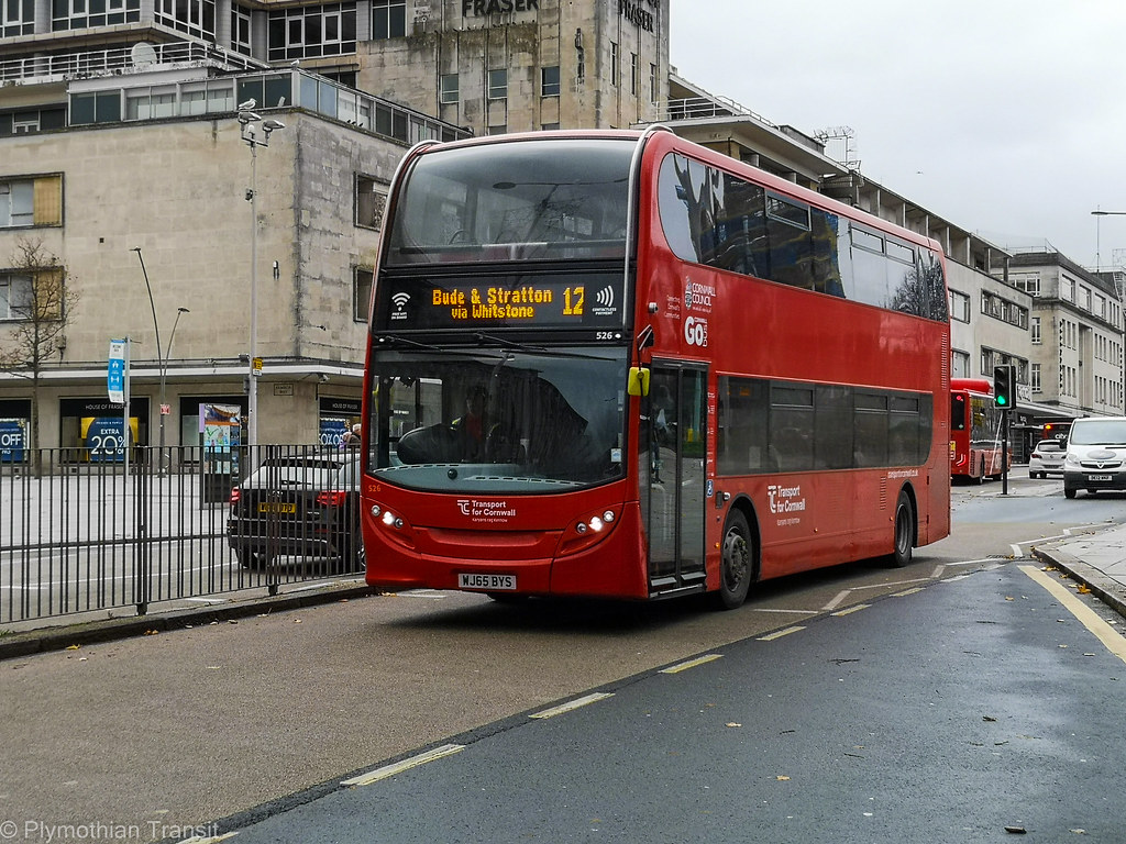 Plymouth Citybus 526 WJ65BYS