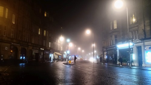 Misty Evening in Bruntsfield 02