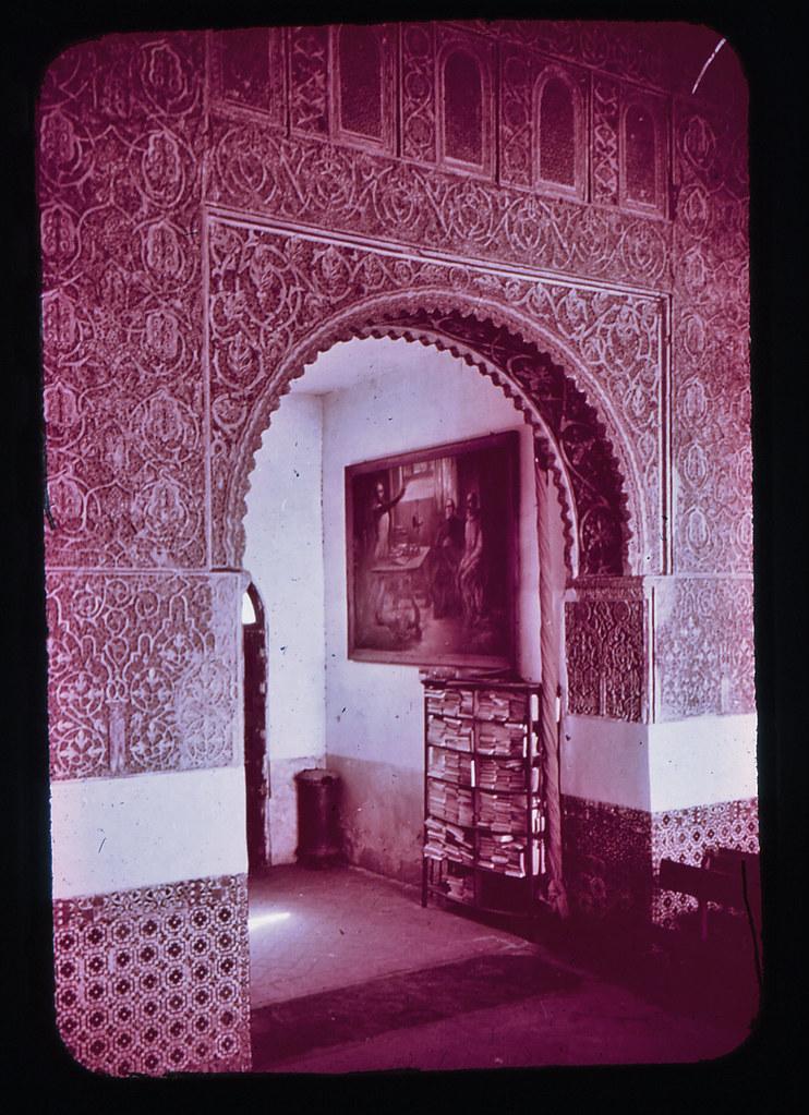 Casa de Mesa en Toledo hacia 1965. Diapositiva incluida en el Librofilm Aguilar dedicado a la ciudad en ese año. Colección personal de Eduardo Sánchez Butragueño.