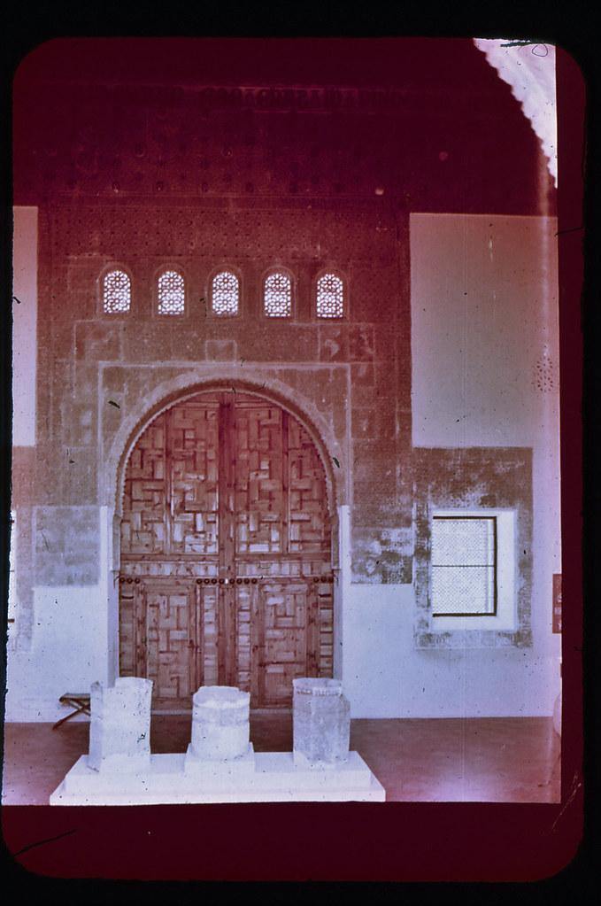 Taller del Moro en Toledo hacia 1965. Diapositiva incluida en el Librofilm Aguilar dedicado a la ciudad en ese año. Colección personal de Eduardo Sánchez Butragueño.