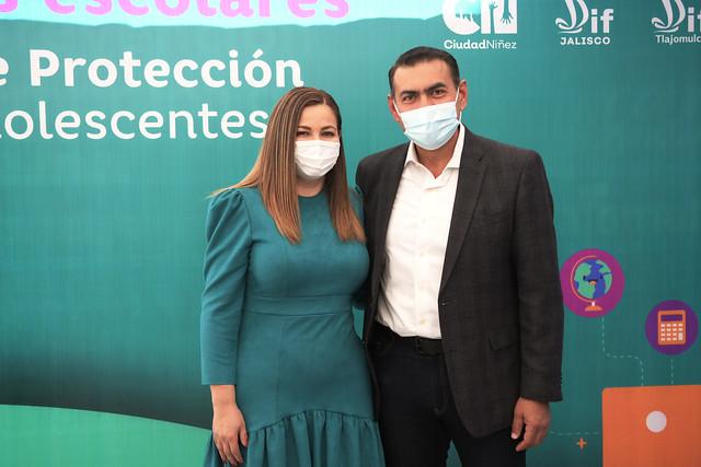 El Presidente Salvador Zamora Asistió a la Entrega Simbólica de Apoyos para la Protección de la Infancia
