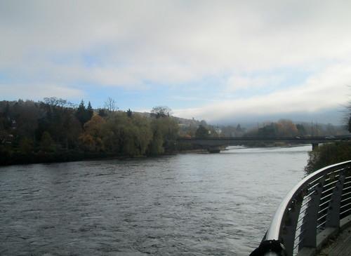 River Tay at Perth, Scotland