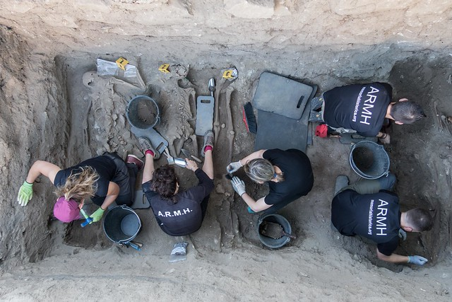 Exhumación El Espinar (Segovia)