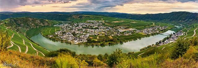 Piesport Panorama,  Germany