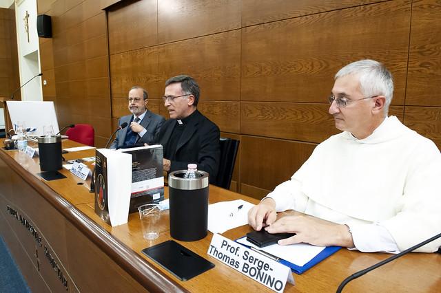"""Presentazione del libro di Josep-Ignasi Saranyana """"Historia de la Teología cristiana (750-2000)"""