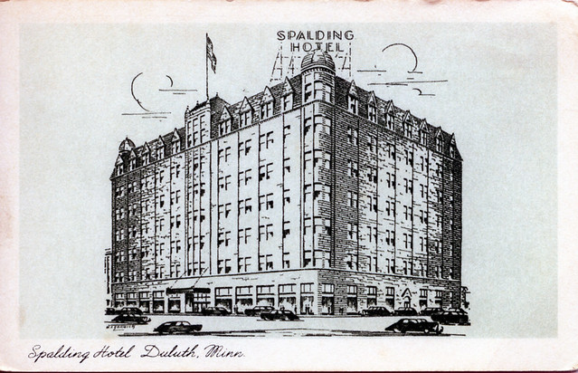 Spalding Hotel Duluth MN