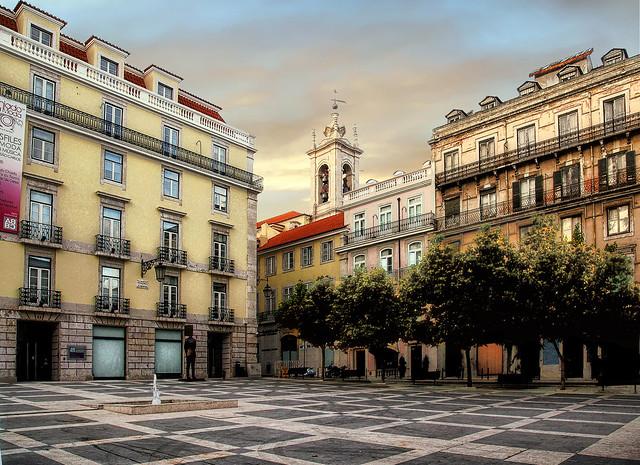 Ruas de Lisboa - Largo S. Carlos