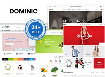 Dominic - Organic Food | Fashion | Furniture & Multipurpose Prestashop Theme Preview