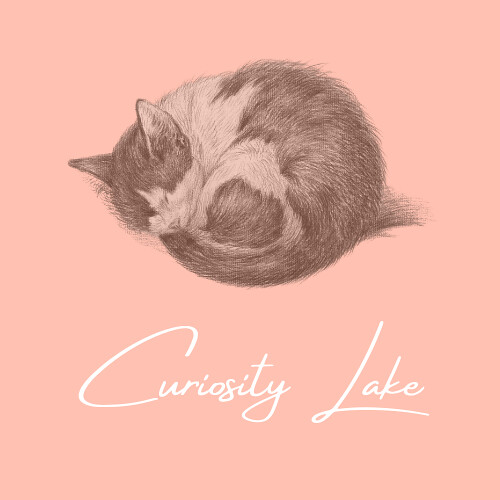 Curiosity Lake logo | by SadyCat Littlepaws