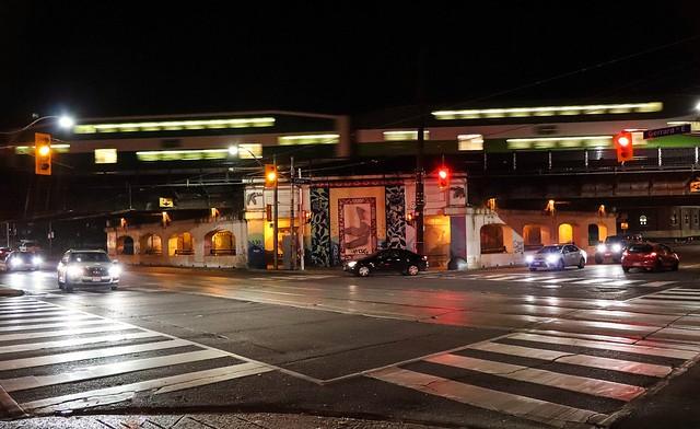 Carlaw Avenue Train Bridge