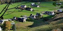 Saint-Roch (Campan, Hautes-Pyrénées, Occitanie, Fr) – Les paysages du reconfinement sous la règle de « 1 heure x 1 Km »