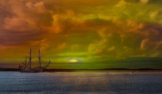 Evening Ship