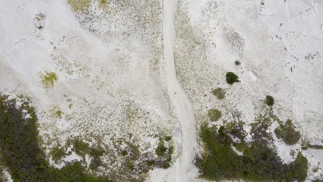 Selfie on a sand dune
