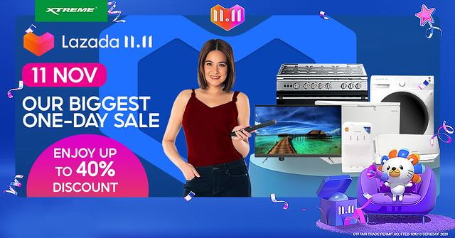 Lazada 11.11 Biggest One Day Sale