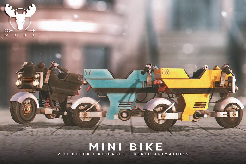 -MUSU- Mini Bike @ Equal 10