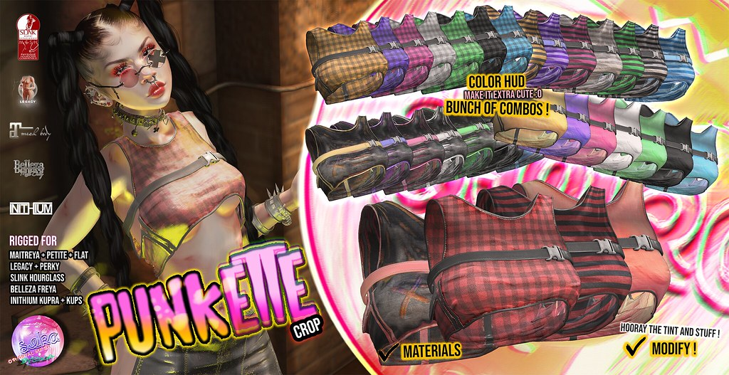 SEKA's Punkette Crop @ACCESS