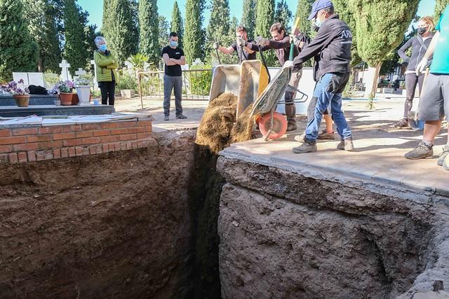 Exhumación fosa 3 - Guadalajara