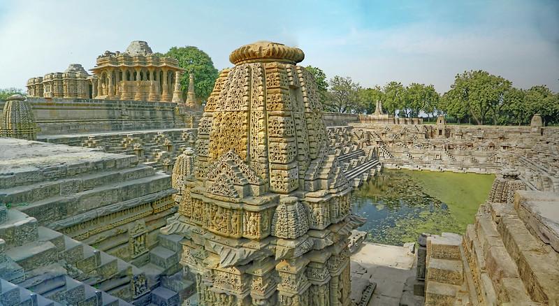 Sun Temple/Step Well, Modhera