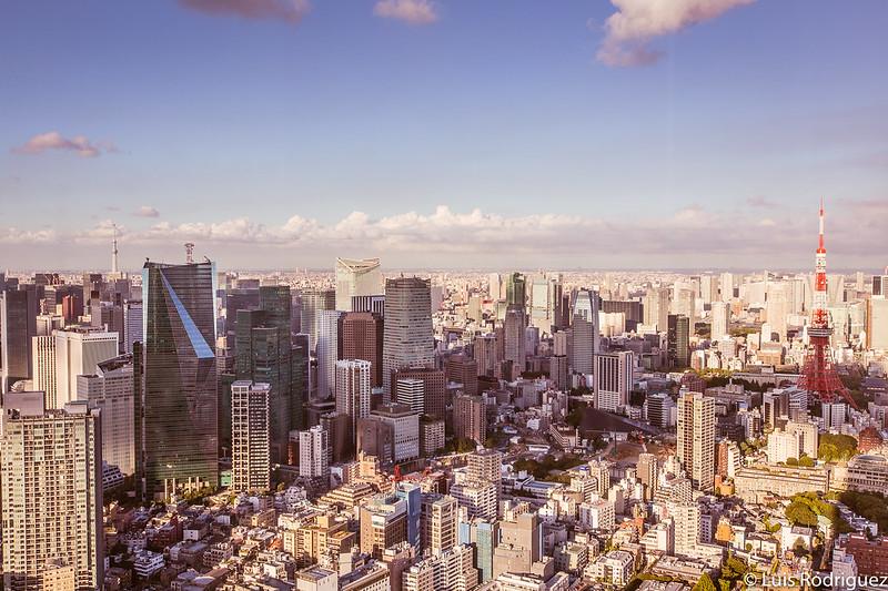 Vistas desde el mirador de la Torre Mori