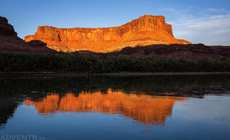 Green River Reflection