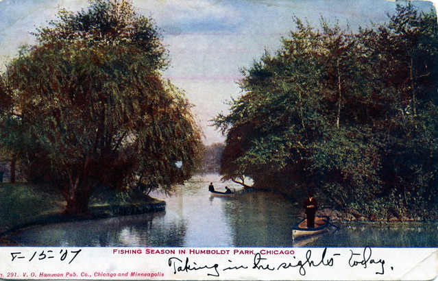 Fishing Season in Humboldt Park Chicago IL