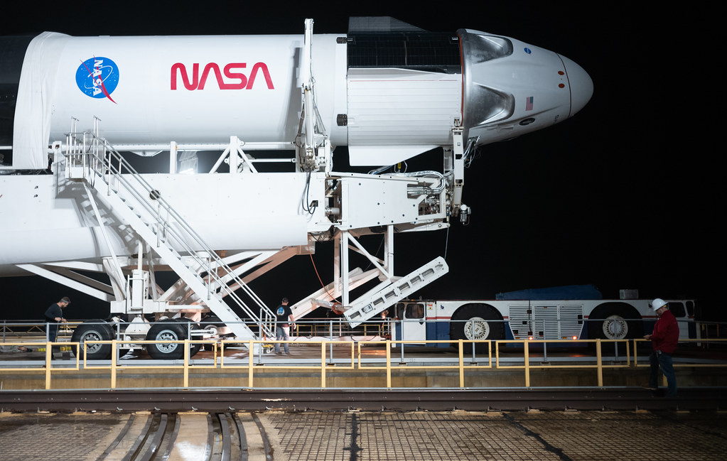 SpaceX Rollout