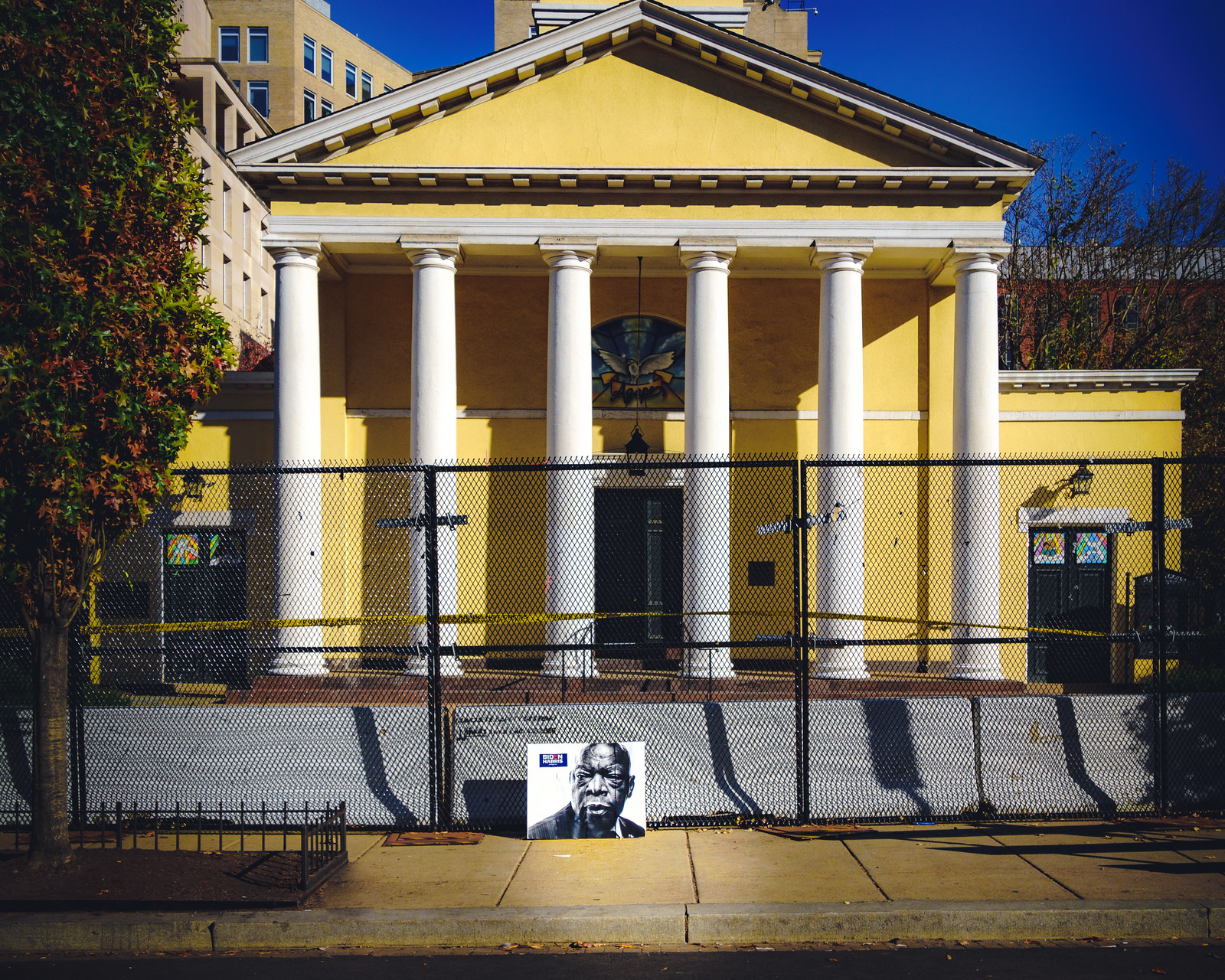 Thanks for publishing my photo, in fencing Comes Down Around Lafayette Park, St. John's Church | DCist