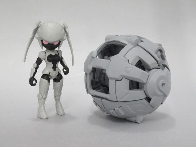 萬代 GASHAPON 新商品企畫「轉蛋→機器人(暫稱)」情報公開!