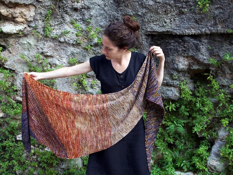 Kalchaky shawl by Alma Bali