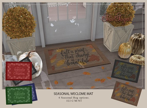 Seasonal Welcome Mat