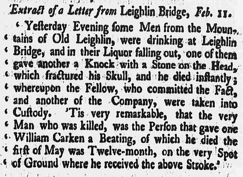 Derby Mercury - Friday 21 February 1752