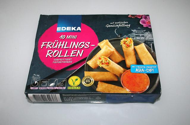 01 - Mini spring rolls - Packaging / Mini-Frühlingsrollen - Packung