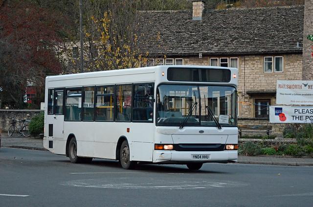 Ebley Coaches YN04 HHU, Nailsworth