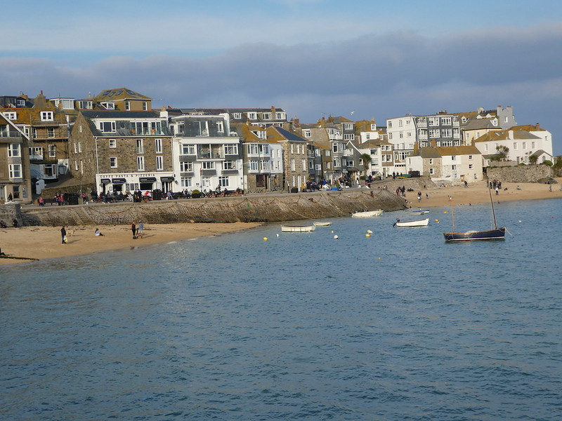 St. Ives seafront and harbour