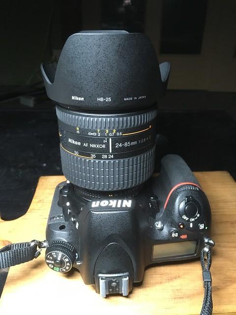 Nikon D750 + AF Nikkor 24-80mm F2.8-4 D