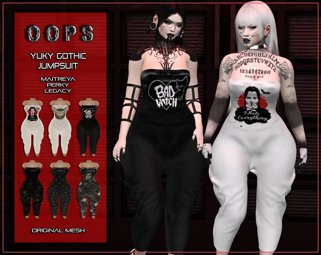 ::OOPS:: Yuky Jumpsuit – Gothic