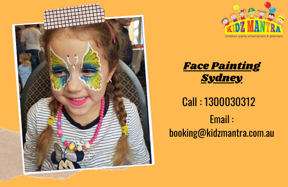 Get the Best Enthralling Face Painting in Sydney