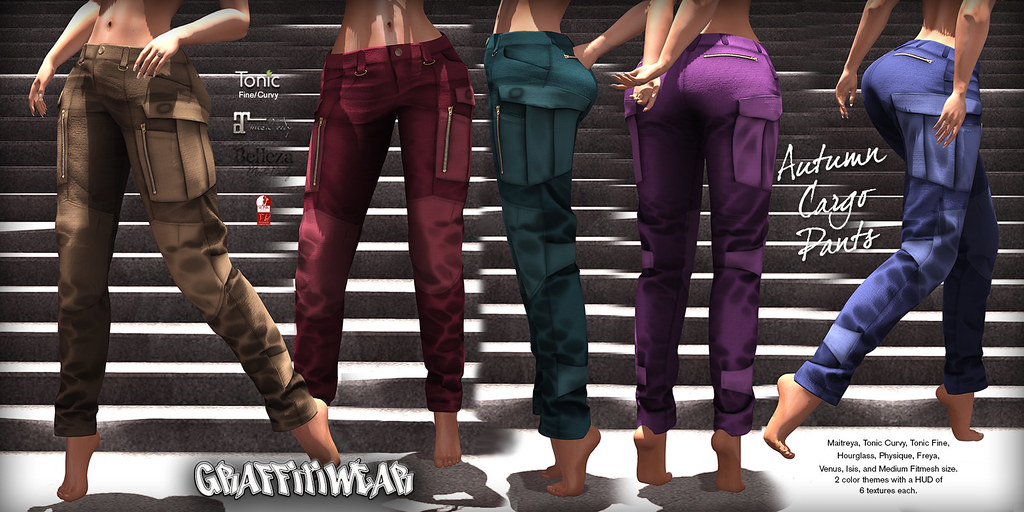 Autumn Cargo Pants Ad