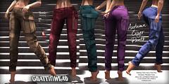 Autumn Cargo Pants Ad