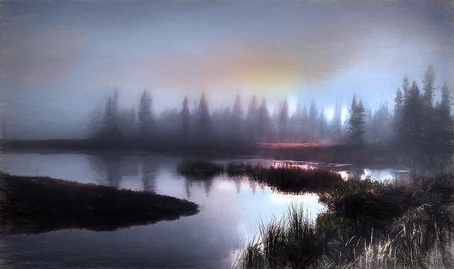 Autumn Morning At The Lake (Explored)