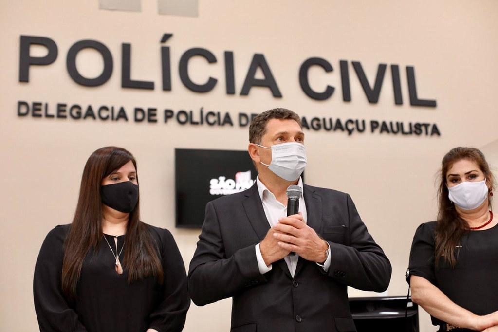 Entrega da Reforma e Ampliação da Delegacia e da DDM de Paraguaçu Paulista
