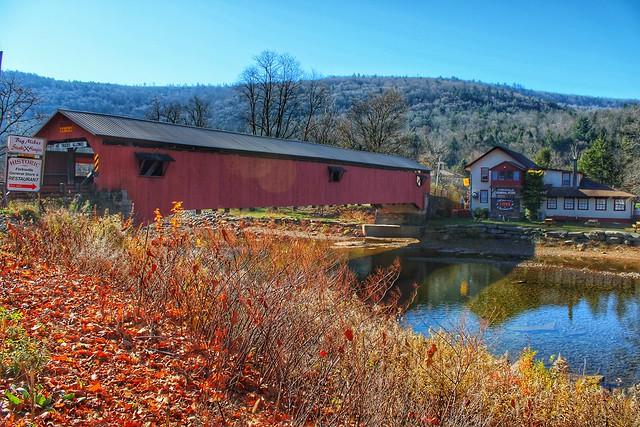 Forksville, Pennsylvania covered bridge