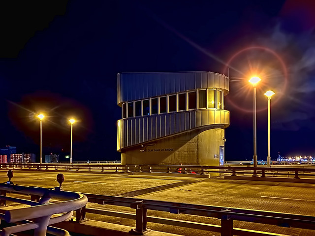 The SE 17th Street Causeway (Commodore Brook/Clay E. Shaw) Bridge, City of Fort Lauderdale, Broward County, Florida, USA