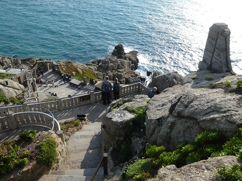The Minack Theatre from above