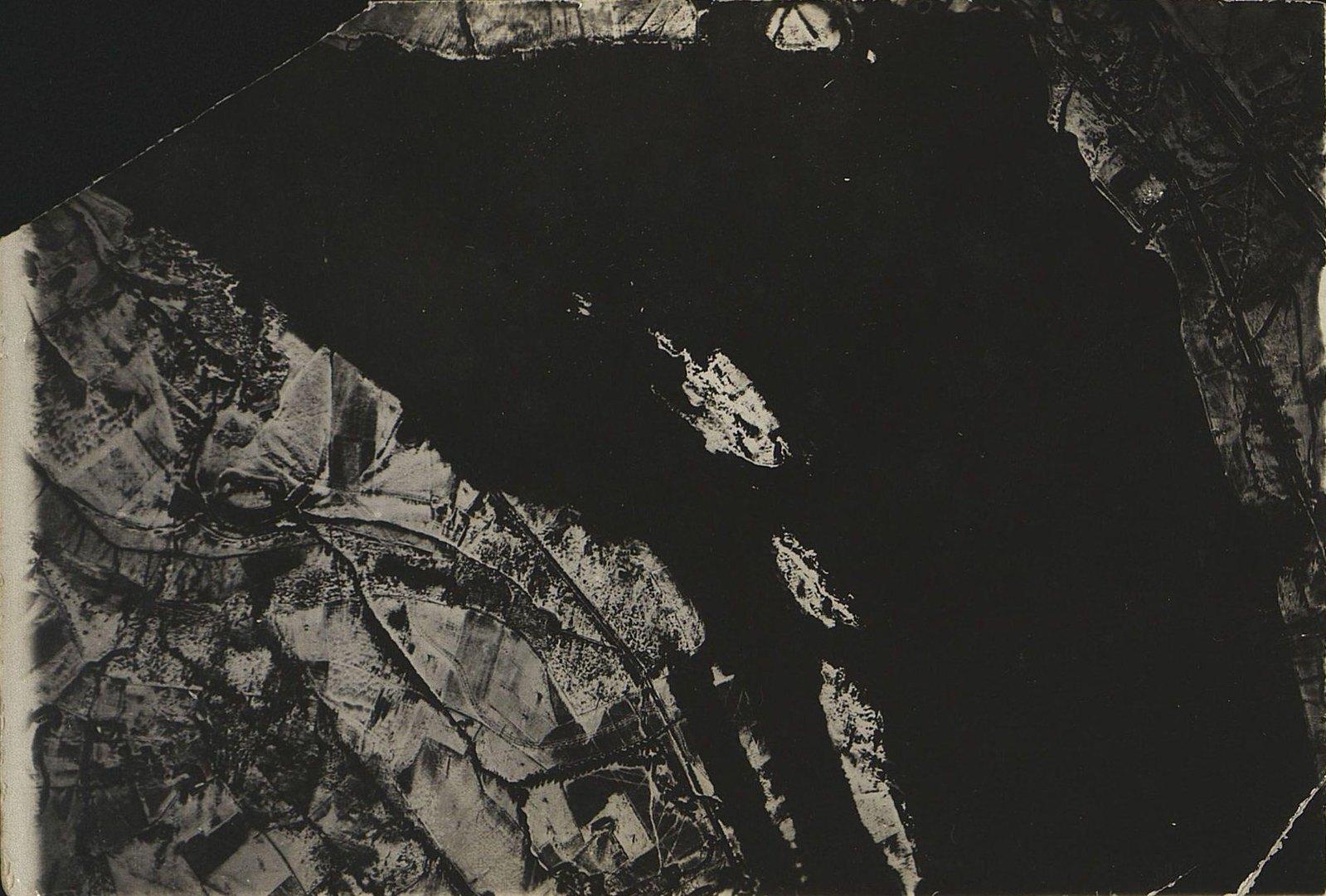 1916. Зимняя фоторазведка Двины (севернее Двинска) на одном из участков Северного фронта (снимок седьмой)