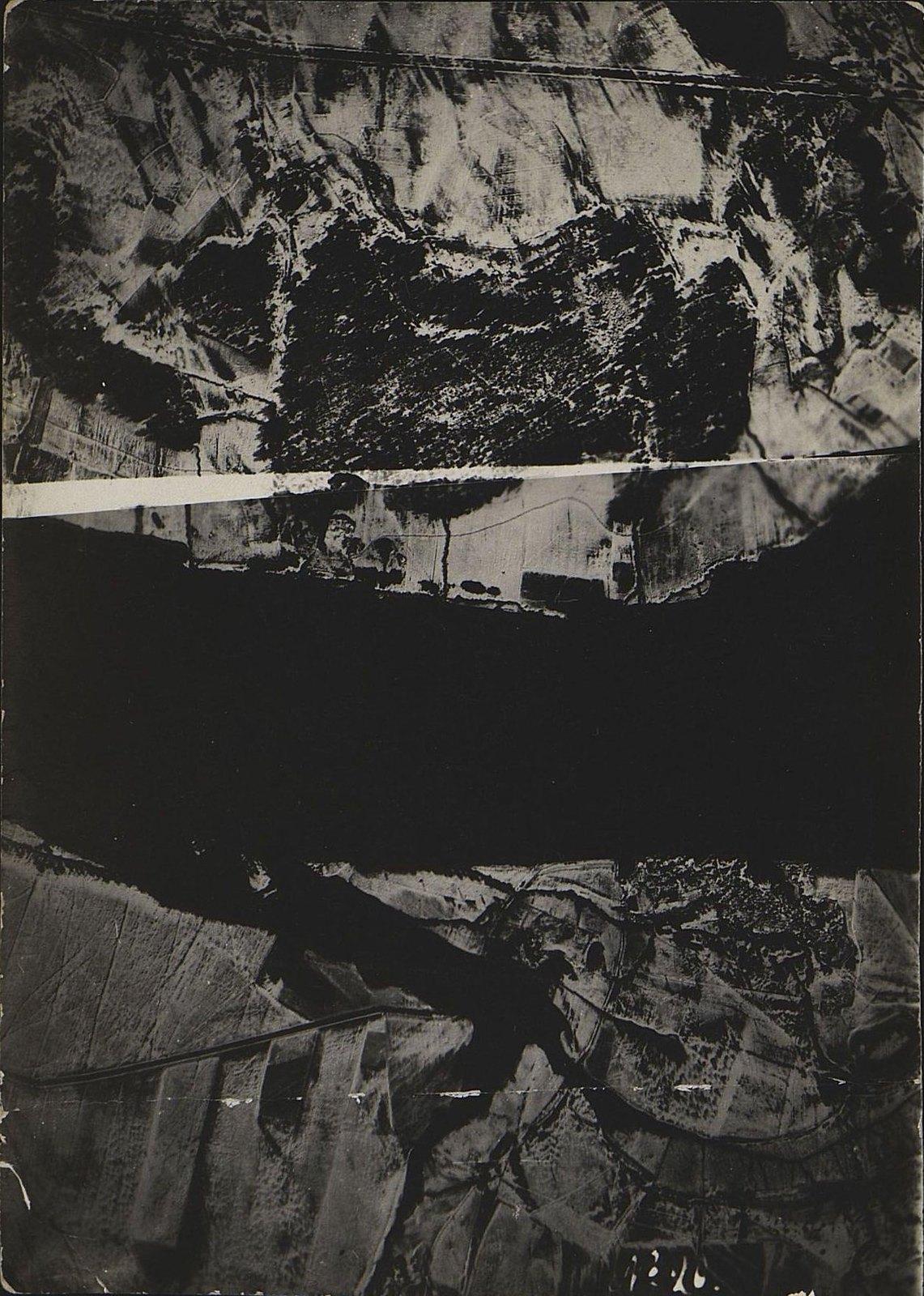 1916. Зимняя фоторазведка Двины (севернее Двинска) на одном из участков Северного фронта (снимок пятый)