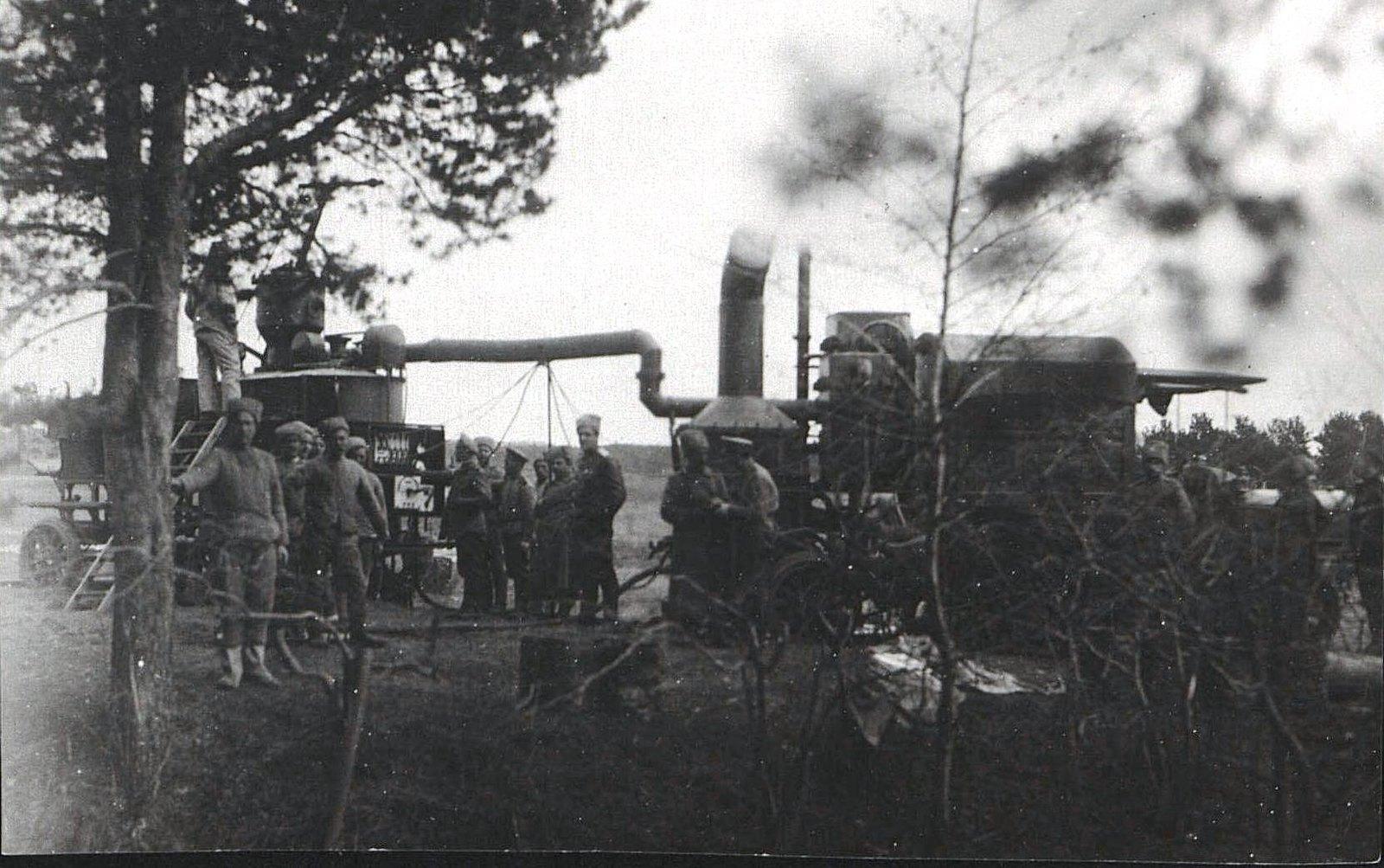 1916. Добыча газа для аэростатов из силикона и едкого натра при помощи походного газодобывательного аппарата «Оксилит»
