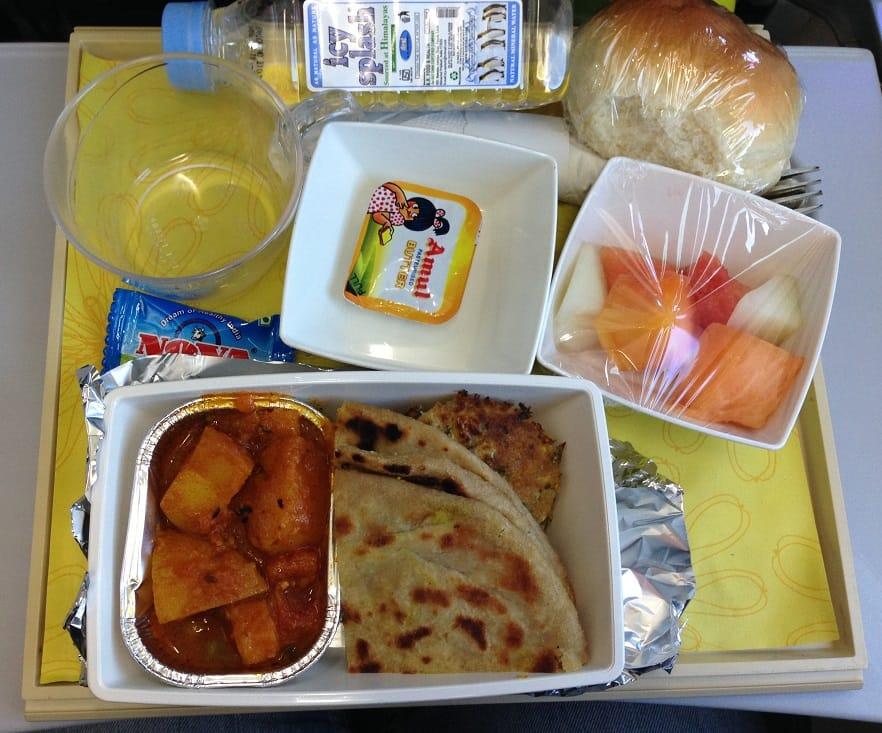 csomagolt repülős ételek