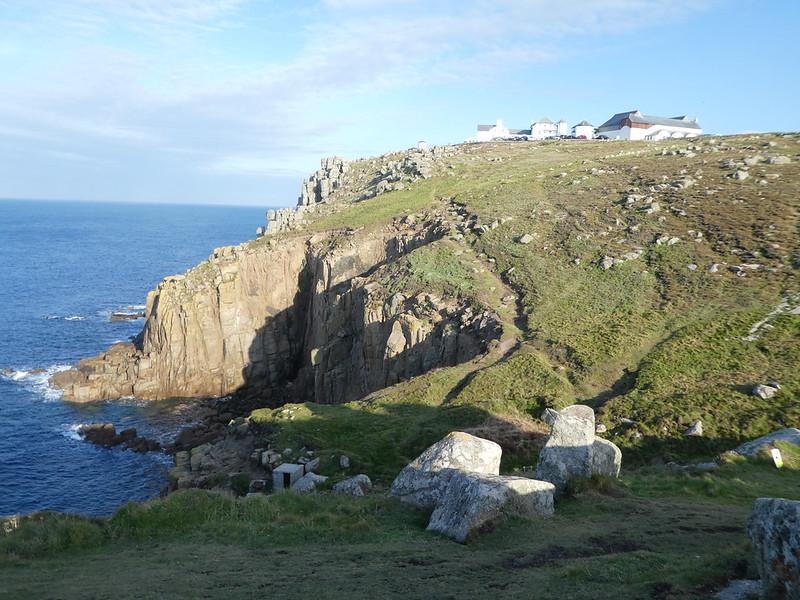 Rugged Land's End coastline