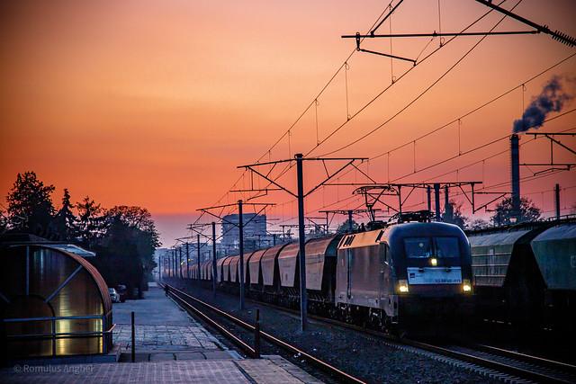 Sunset railroad